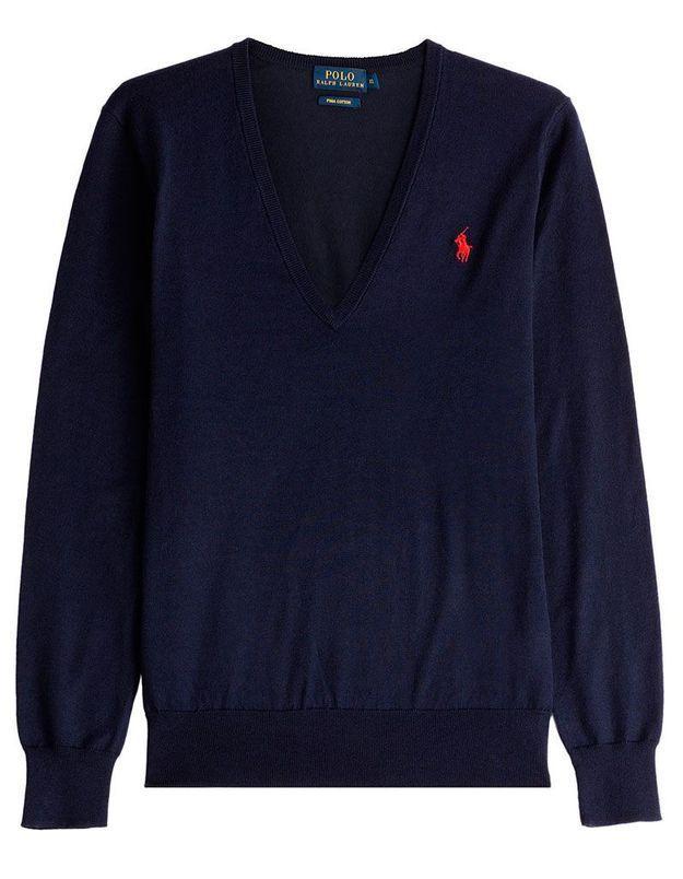 Pull bleu marine Polo Ralph Lauren