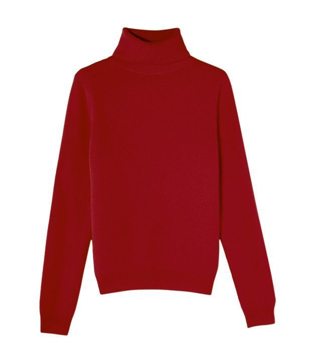 Pull rouge Bompard