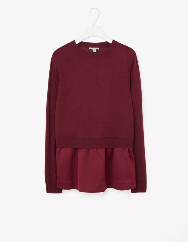 Pull rouge Cos