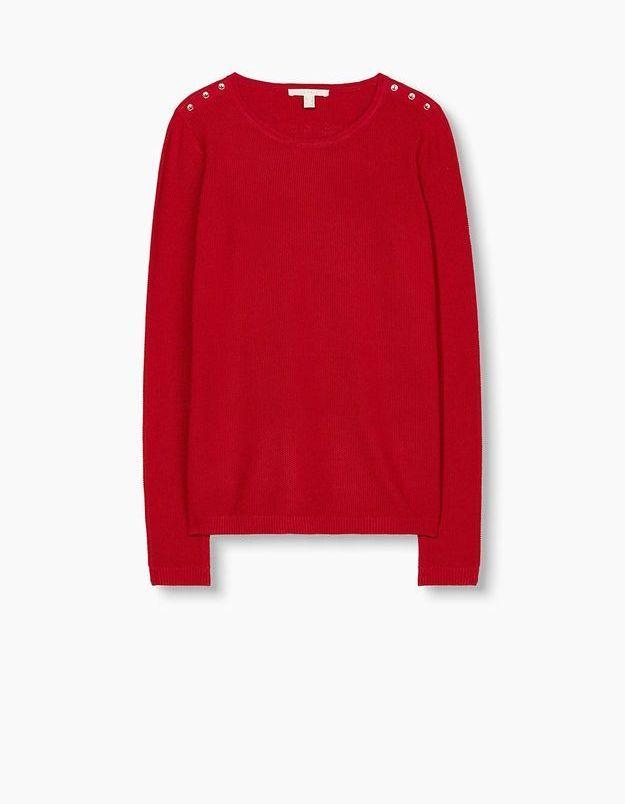 Pull rouge Esprit