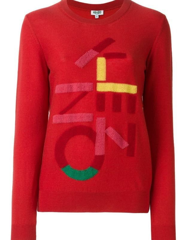 Pull rouge Kenzo