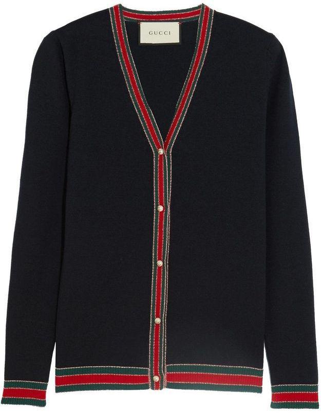 Cardigan en laine Gucci