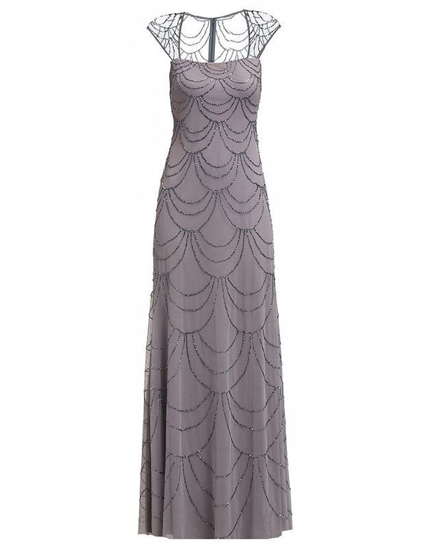 Robe de cocktail longue Adrianna Papell