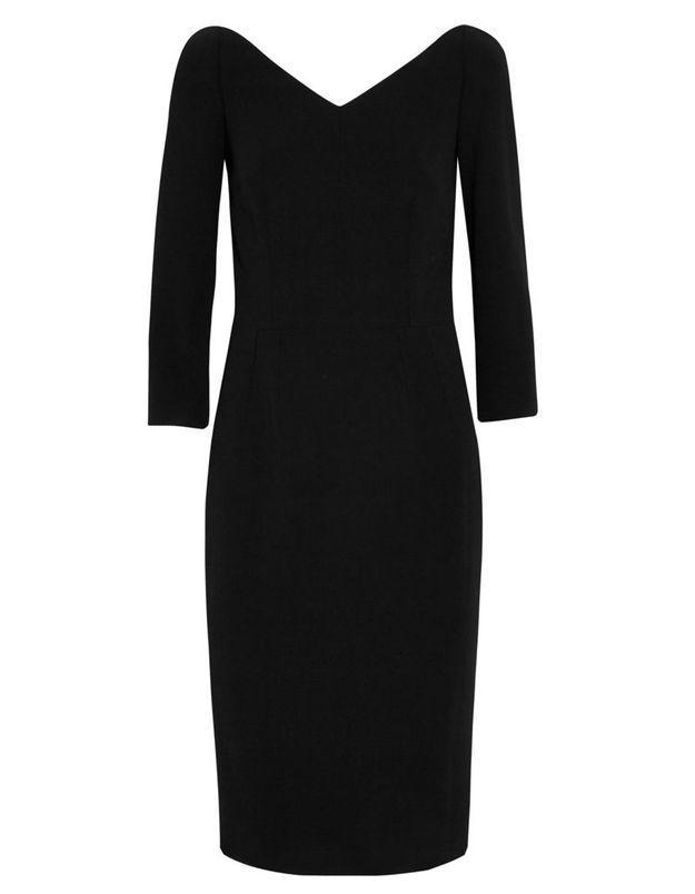 Robe de cocktail noire Dolce & Gabbana