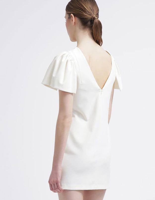 Robe dos nu blanche Miss Selfridge