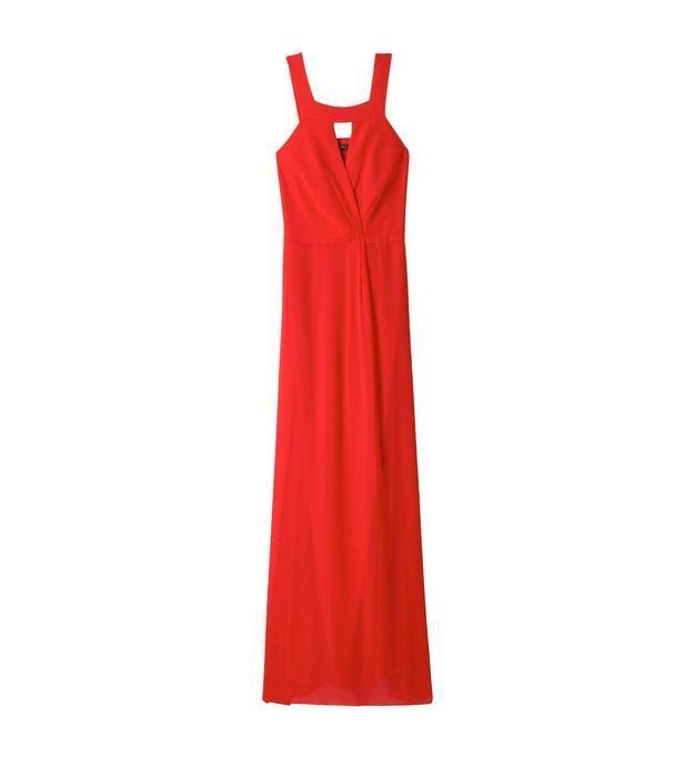 Belle robe Esprit fluide rouge