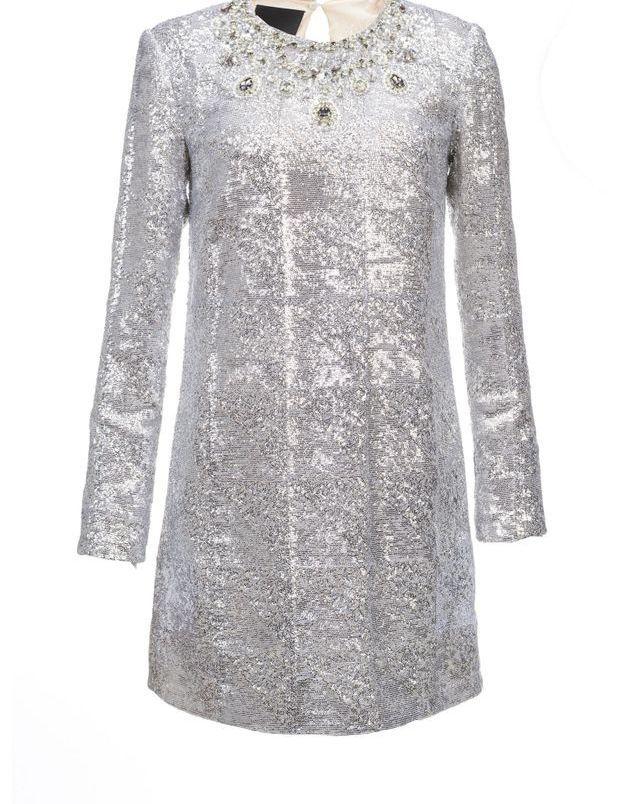 Robe à paillettes sixties Pinko