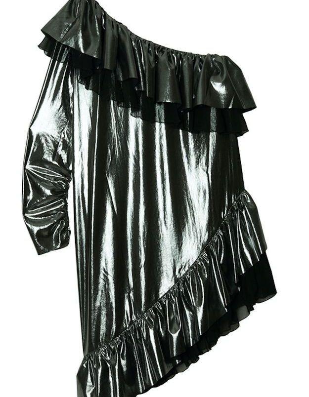 Robe asymétrique Maison Père