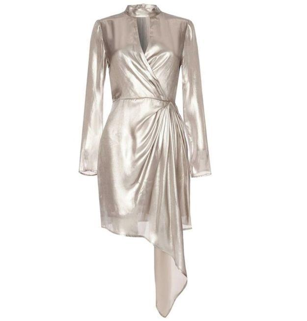 Robe asymétrique Topshop