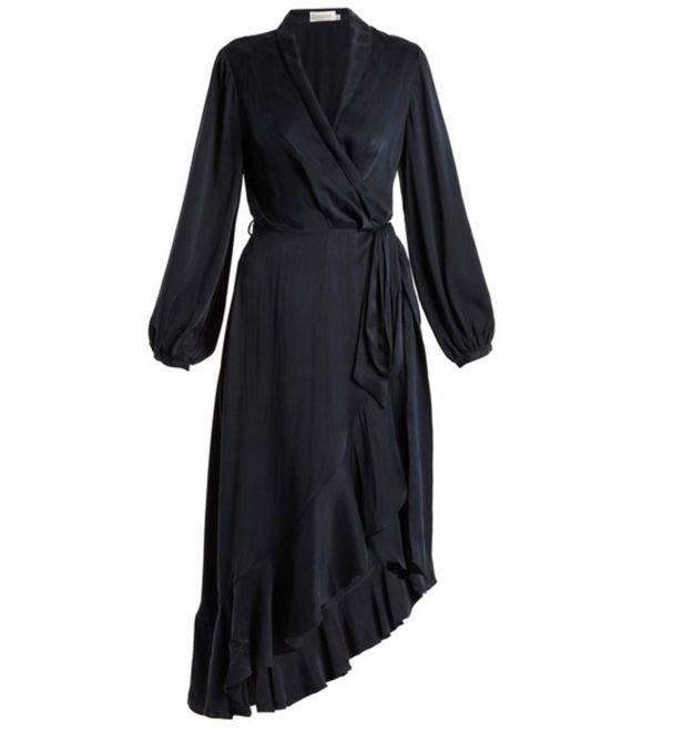 Robe asymétrique Zimmermann