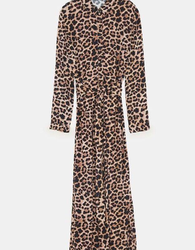 Robe léopard Zara