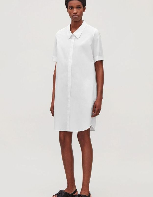 Robe blanche Cos
