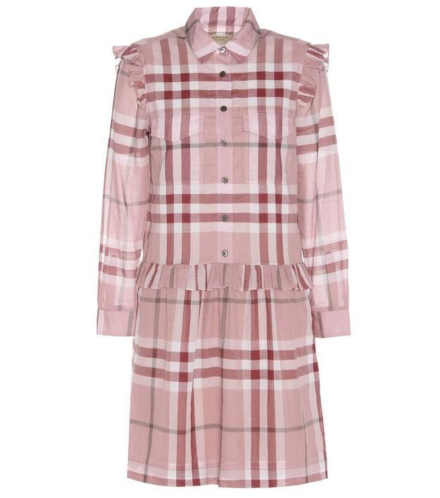 Robe boutonnée Burberry