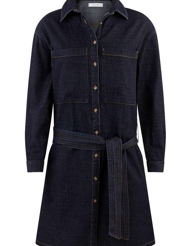 Robe boutonnée en jean Promod