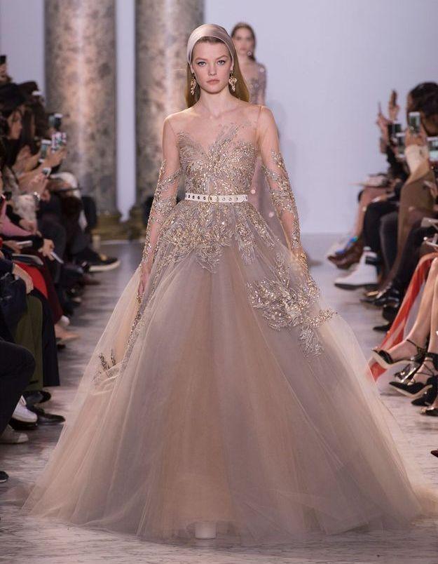 Défilé Haute Couture Elie Saab