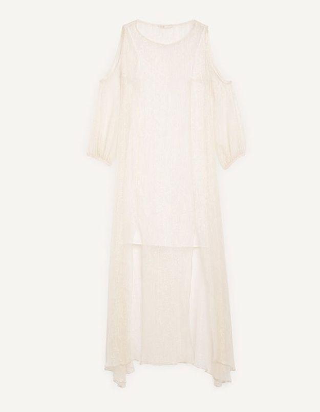 Robe en soie longue Maje