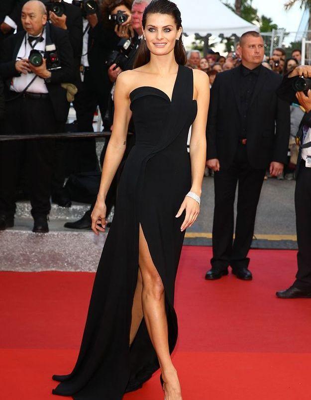 La robe fendue d'Isabeli Fontana