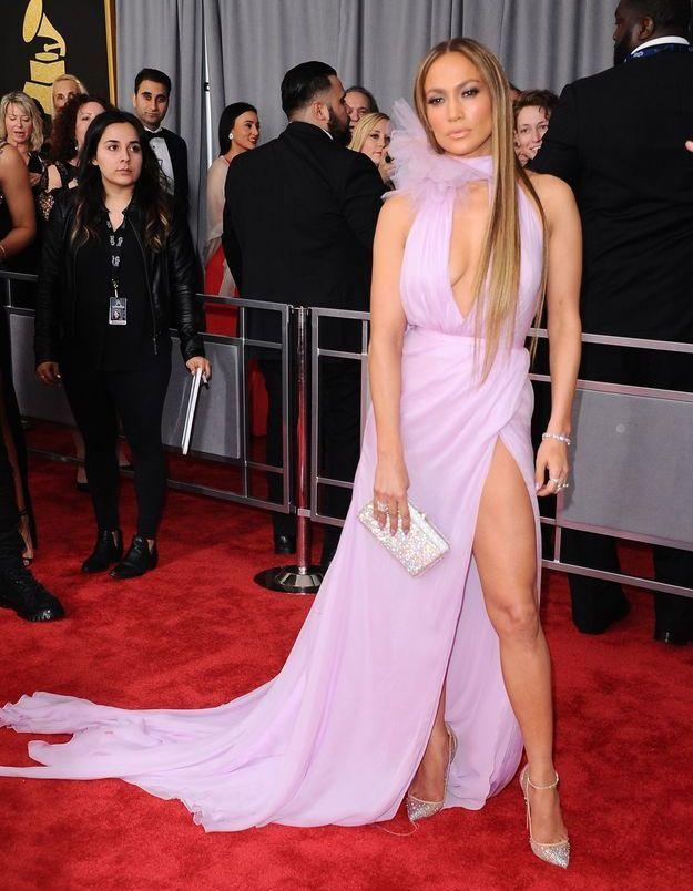 La robe fendue de J-Lo