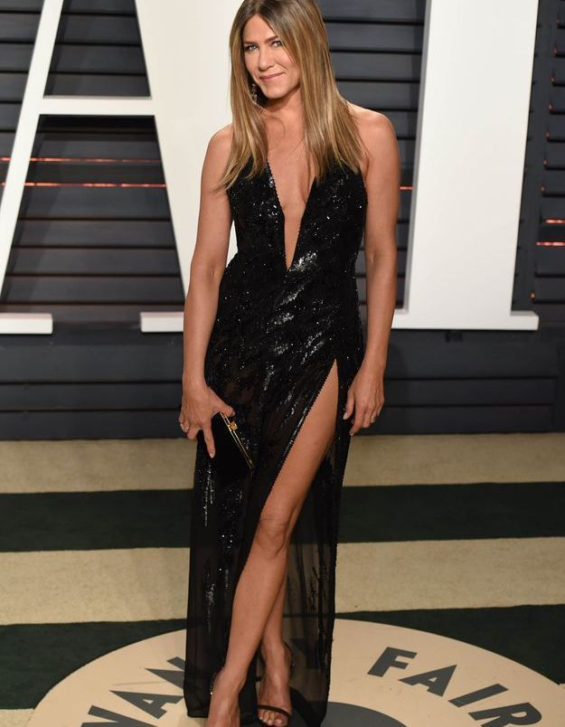 La robe fendue de Jennifer Aniston