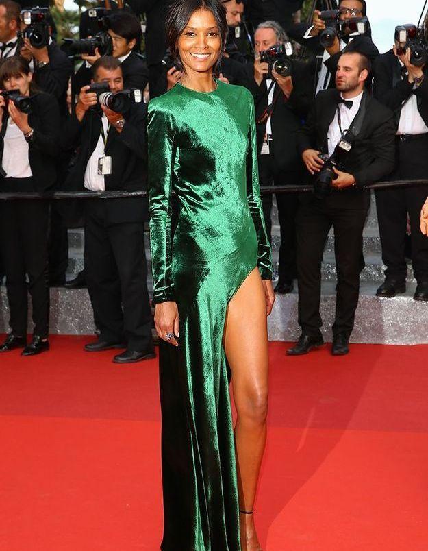 La robe fendue de Liya Kebede