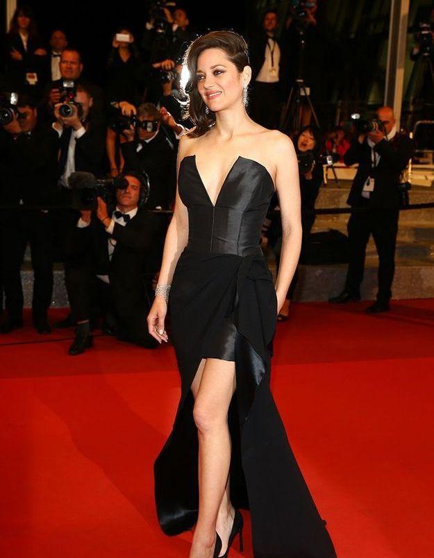 La robe fendue de Marion Cotillard