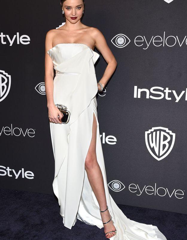 La robe fendue de Miranda Kerr
