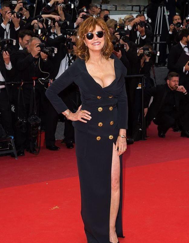La robe fendue de Susan Sarandon
