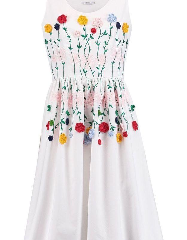 Robe fleurie Vivetta