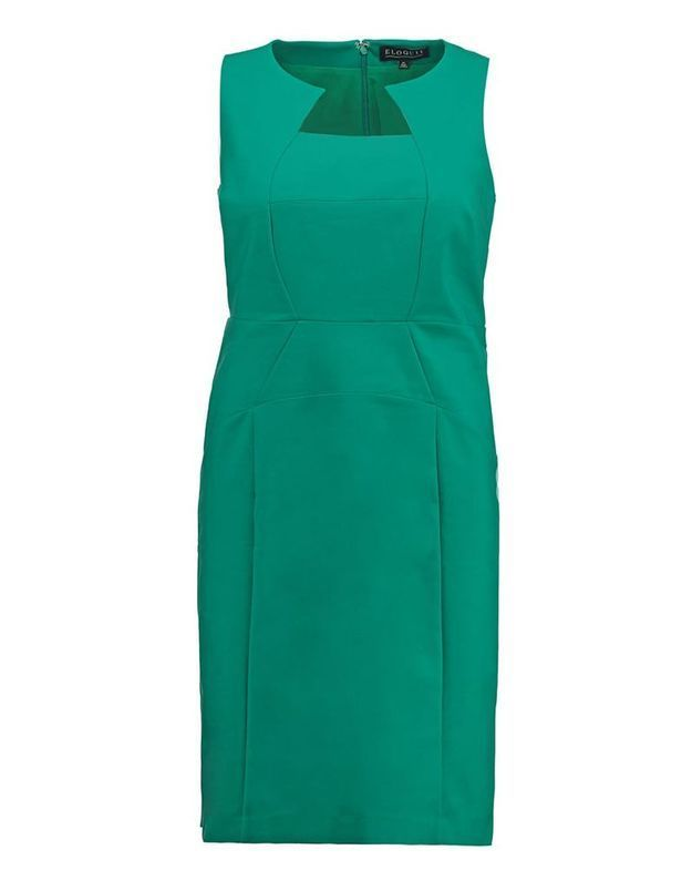 Robe grande taille classique Eloquil