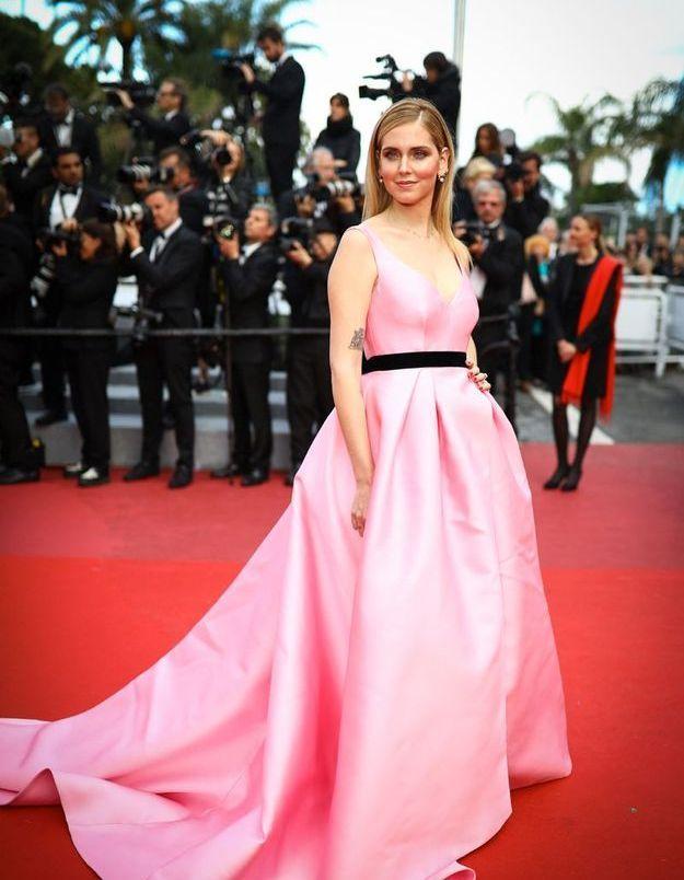 La robe candy de Chiara Ferragni