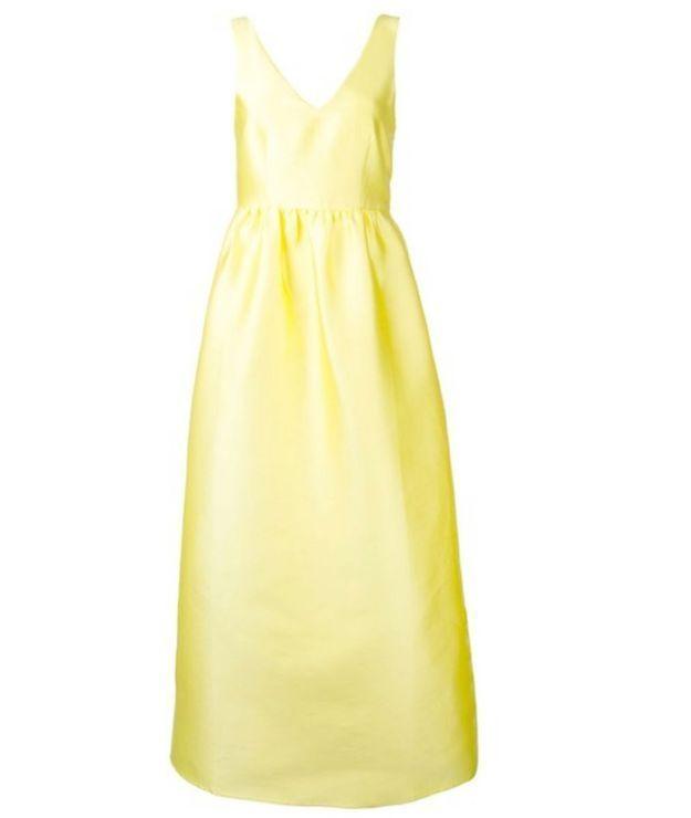 Robe jaune P.A.R.O.S.H