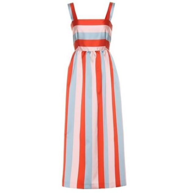 Robe mi-longue Red Valentino