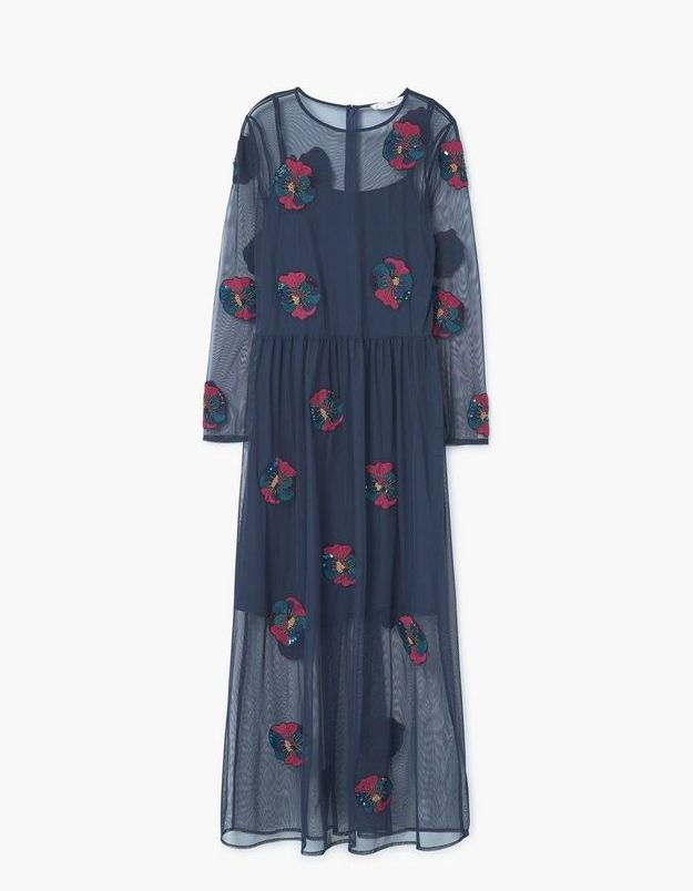 Robe originale Mango