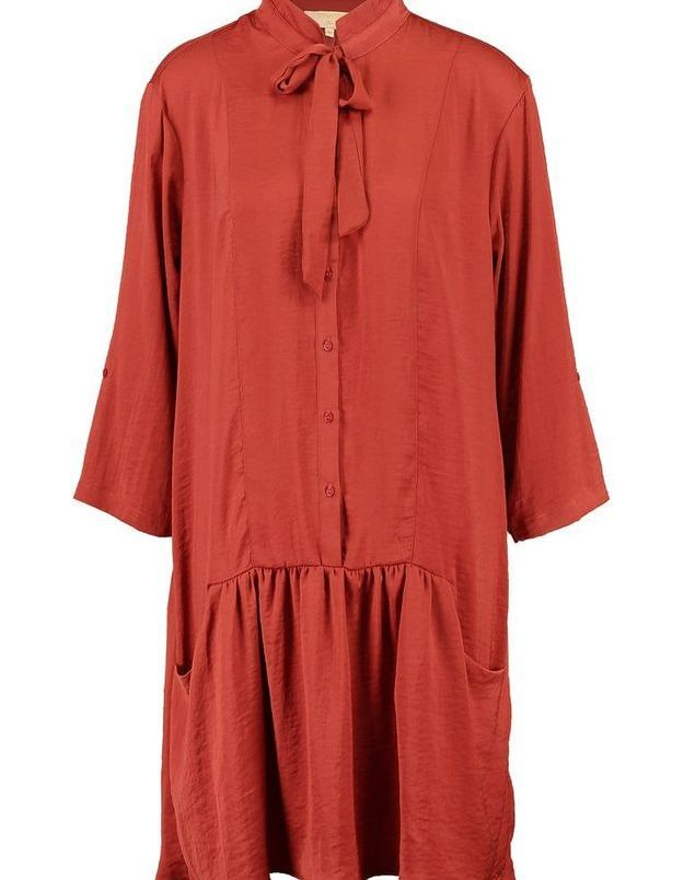 Robe rouge chemise Cream