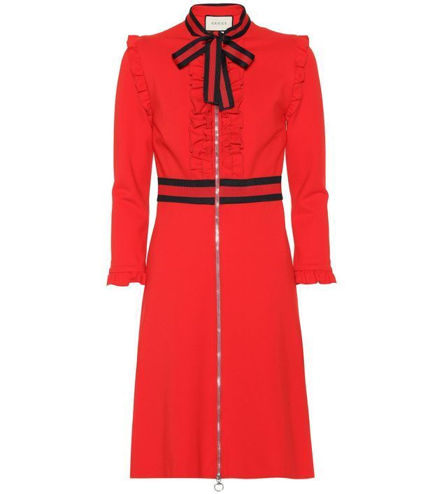Robe rouge Gucci