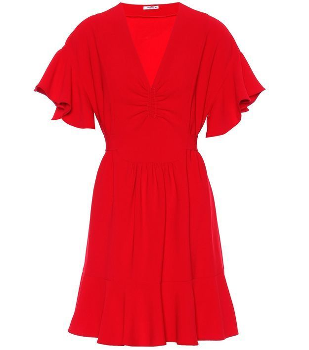 Robe rouge Miu Miu