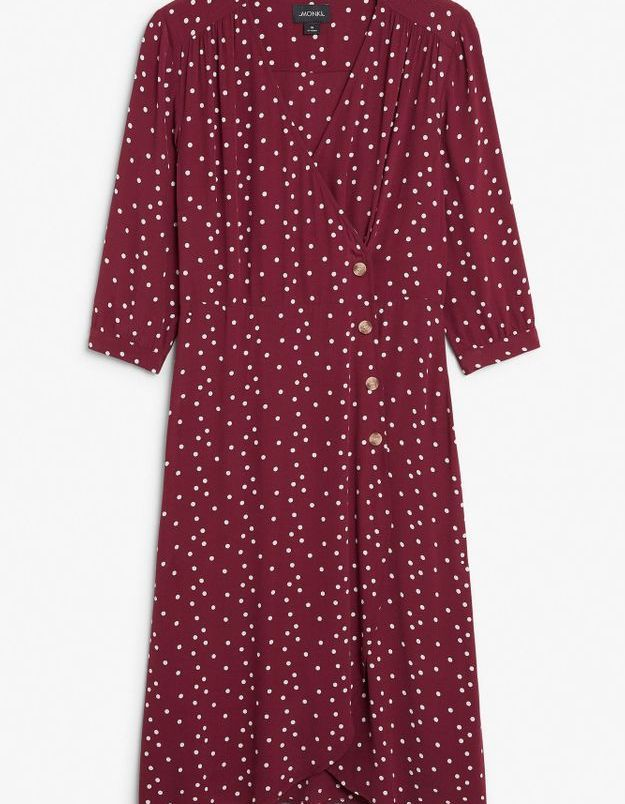Robe rouge Monki