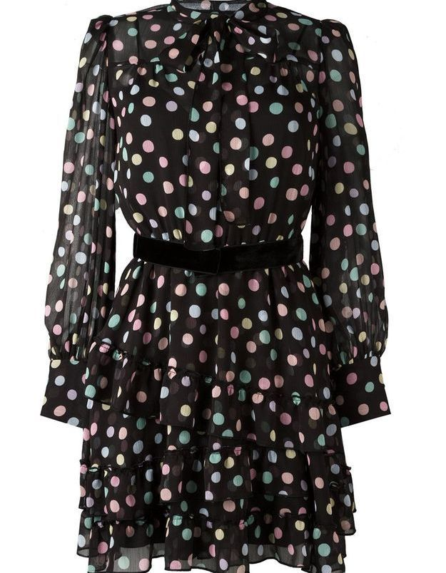 Robe à pois colorés Marc by Marc Jacobs
