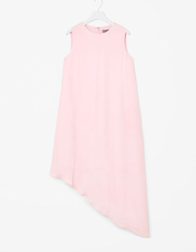 Robe de plage rose COS