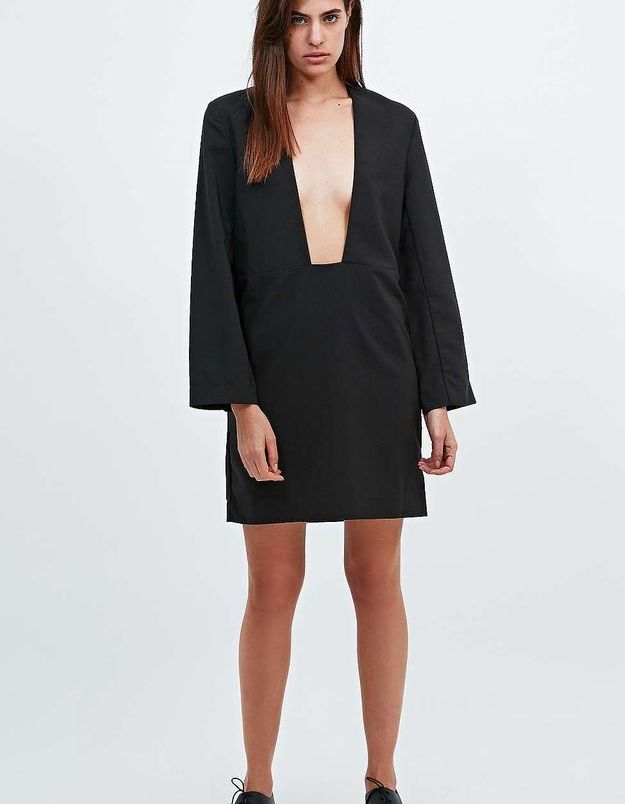 Robe noire Urban Outfitters