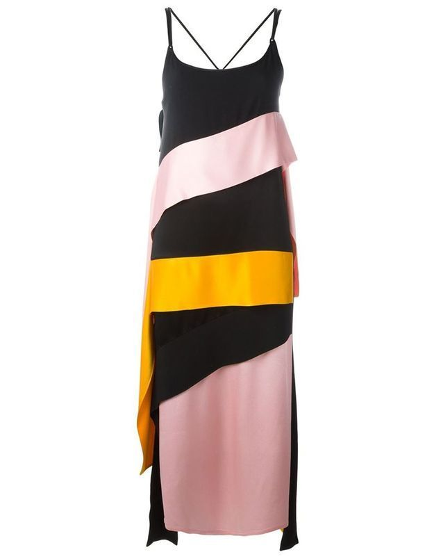 Slip dress colorée MSGM