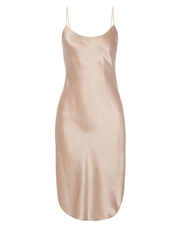 Slip dress en satin Maiyet