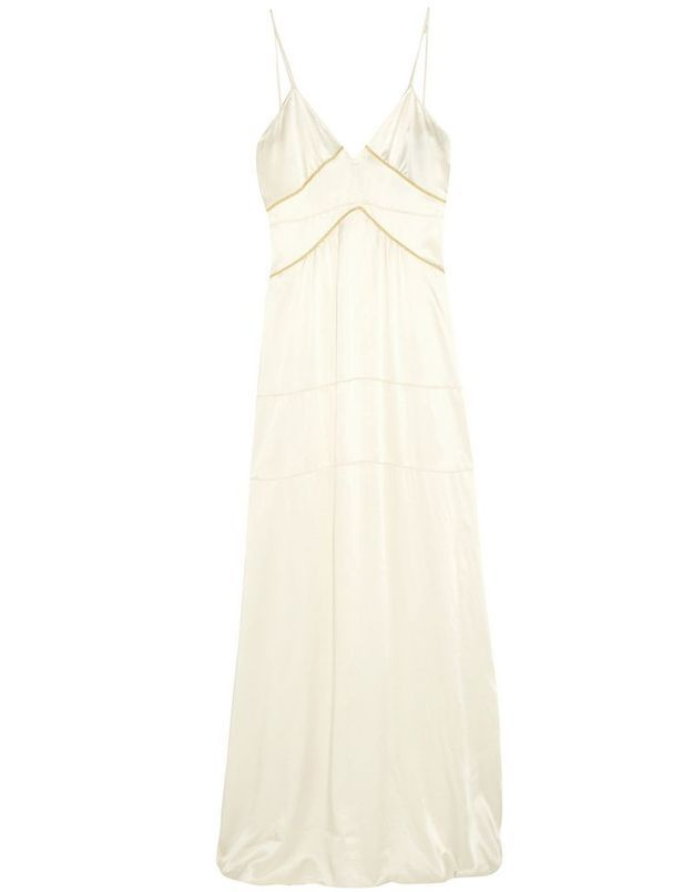 Slip dress en soie Burberry Prorsum