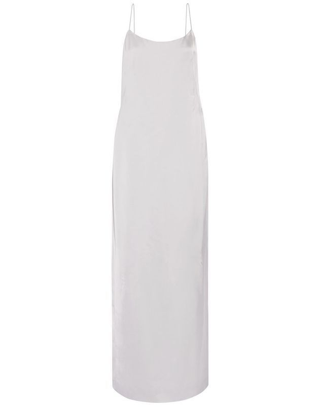 Slip dress longue Calvin Klein Collection