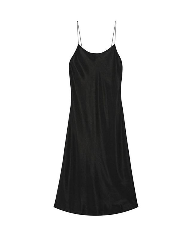 Slip dress noire Helmut Lang