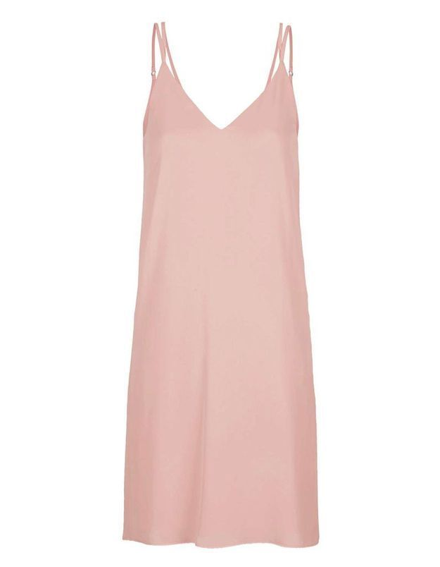 Slip dress rose Topshop