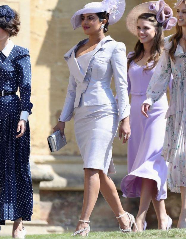 Priyanka Chopra en robe lilas