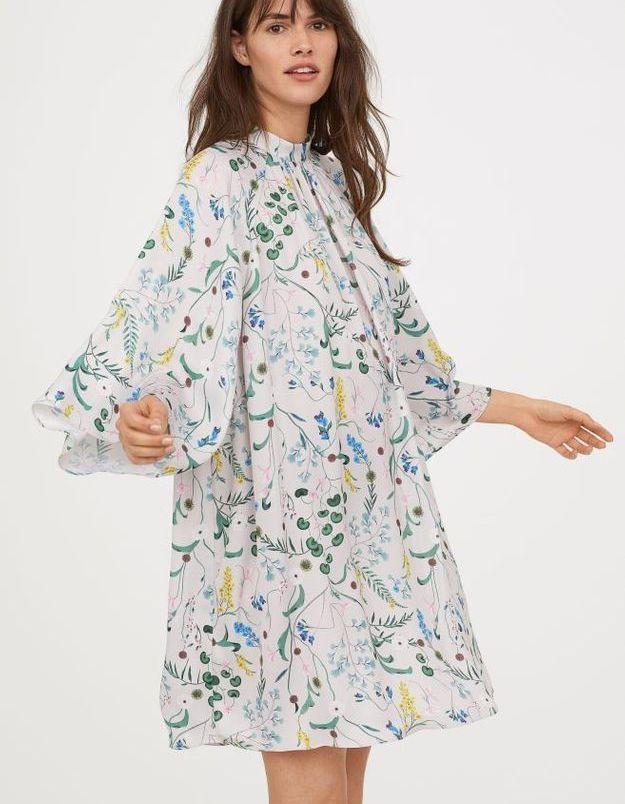 Robe à motifs H&M