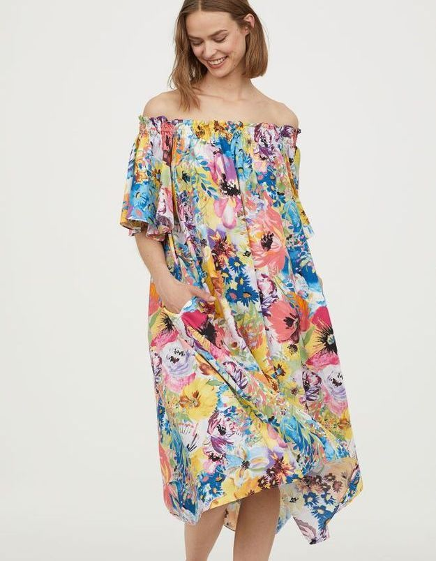 Robes à épaules nues H&M