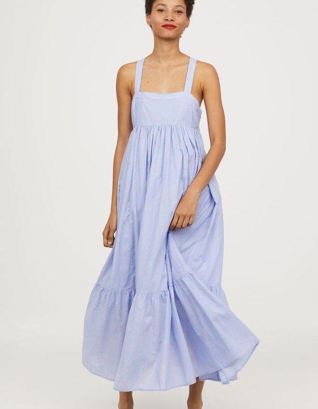 Robe longue sans manches H&M